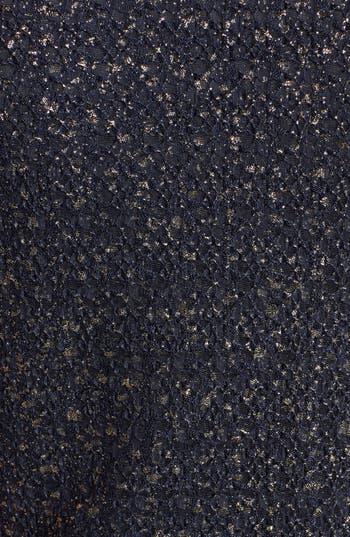 Alternate Image 3  - dee elle Textured Metallic Skater Dress (Juniors)