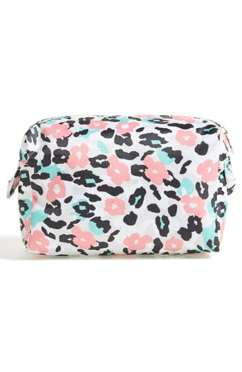 Alternate Image 2  - Tri-Coastal Design 'Leopard' Print Cosmetics Case (Nordstrom Exclusive) (Special Purchase)