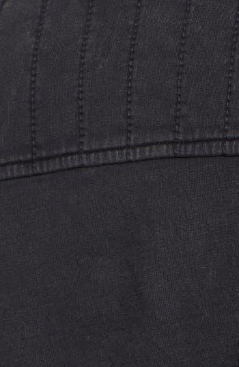 Alternate Image 3  - Rubbish Quilted Knit Biker Jacket (Juniors)