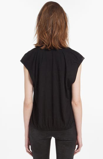 Alternate Image 2  - maje 'Dante' Cap Sleeve Tee