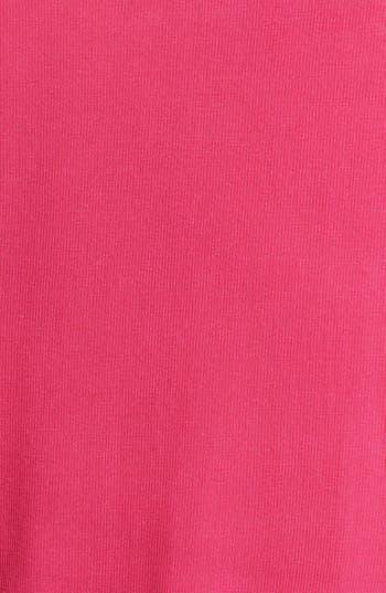 Alternate Image 3  - Painted Threads Asymmetrical  Cardigan (Juniors Plus)