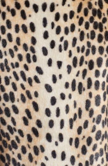 Alternate Image 3  - Kristen Blake Leopard Spot Faux Fur Jacket