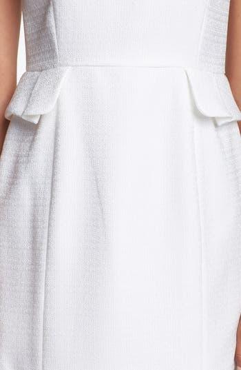 Alternate Image 3  - Tahari Jacquard Peplum Sheath Dress