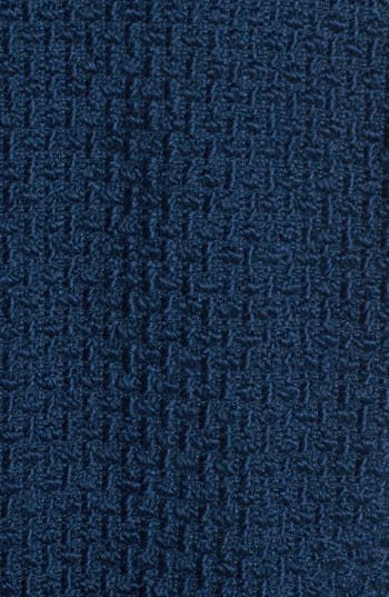Alternate Image 3  - Gallery Basket Weave Walking Coat (Plus Size)