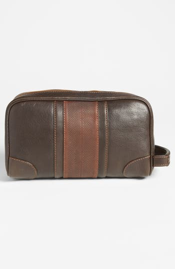 Alternate Image 2  - Martin Dingman Leather Travel Kit