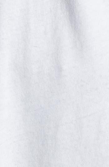 Alternate Image 5  - Free People Graphic Lace Sleeve Tee