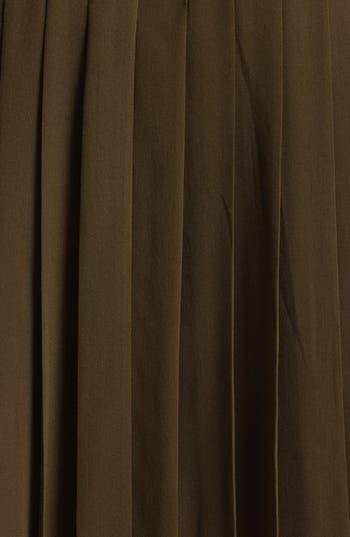 Alternate Image 3  - Burberry London Belted Stretch Silk Dress