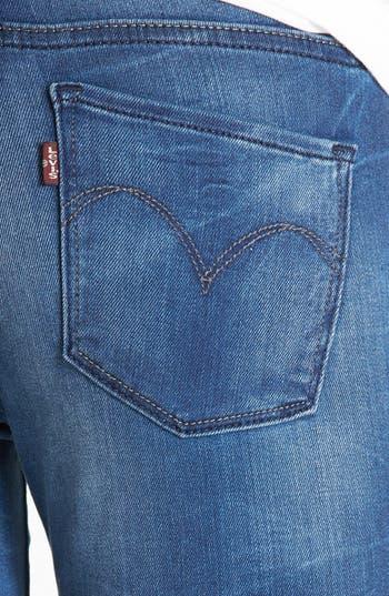 Alternate Image 3  - Levi's® 'Core Better Legging' Skinny Jeans (Blue)
