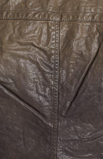 Alternate Image 3  - Q40 Ombré Crinkled Leather Jacket