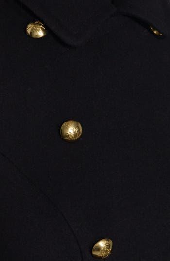 Alternate Image 3  - Lauren Ralph Lauren Military Wool Blend Long Coat