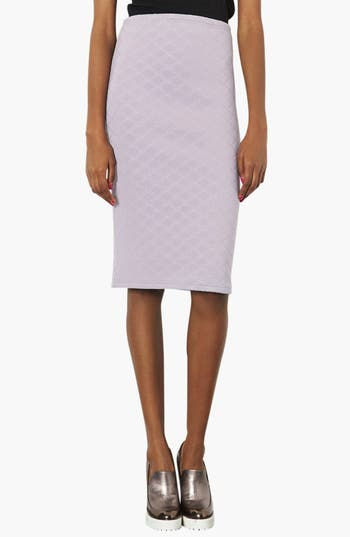 Alternate Image 1 Selected - Topshop Quilted Tube Skirt