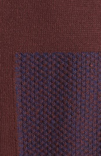 Alternate Image 3  - Rubbish® Mixed Pattern Sweater (Juniors)