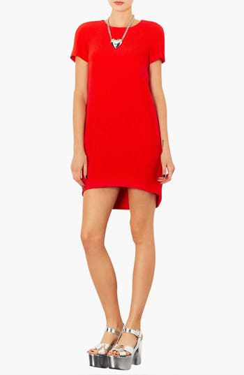 Main Image - Topshop Crepe Shift Dress