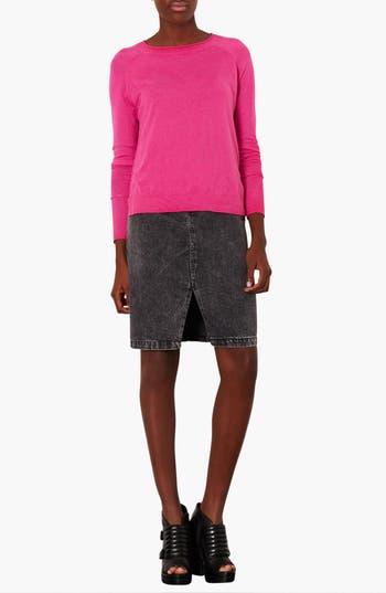 Alternate Image 3  - Topshop Raglan Sleeve Knit Sweater