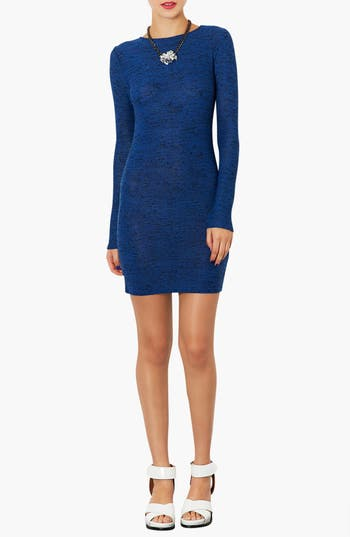 Main Image - Topshop Textured Body-Con Dress
