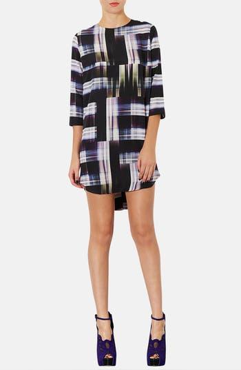 Main Image - Topshop 'Camera Check' Print Tunic Dress