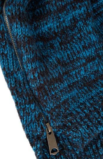 Alternate Image 4  - Topshop Side Zip Tweed Sweater