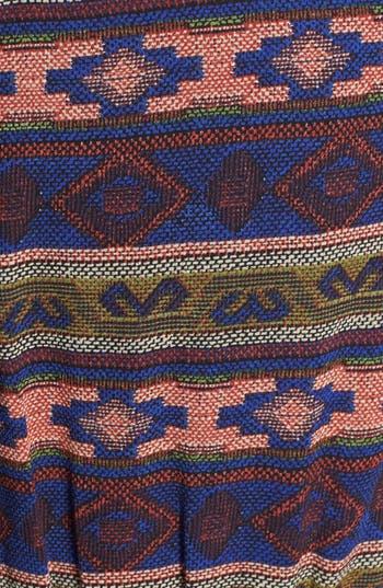 Alternate Image 3  - Blu Pepper Print High/Low Blouson Dress (Juniors)