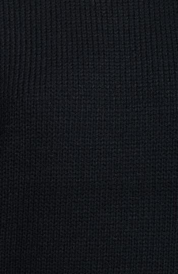 Alternate Image 3  - Lush Stripe Raglan Sleeve Sweater (Juniors) (Online Only)