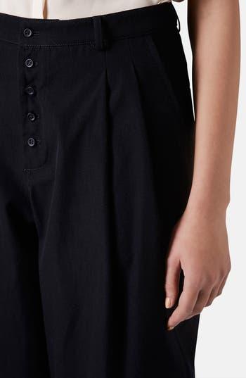 Alternate Image 5  - Topshop Boutique Wide Leg Wool Trousers