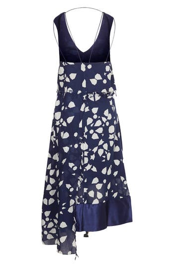 Alternate Image 3  - Topshop Unique 'Uni Spotted' Asymmetrical Cotton Dress