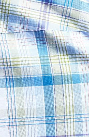 Alternate Image 3  - Robert Talbott Trim Fit Woven Linen Sport Shirt