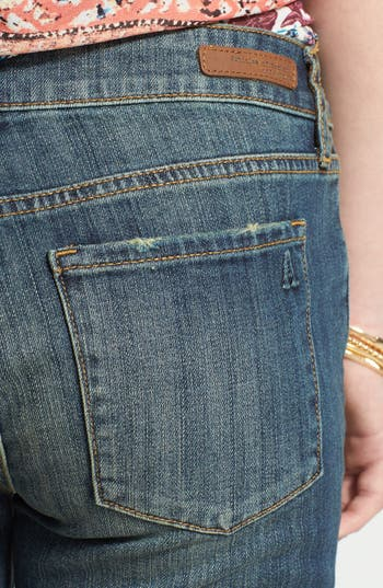 Alternate Image 3  - Articles of Society 'Nancy' Denim Bermuda Shorts (Juniors)