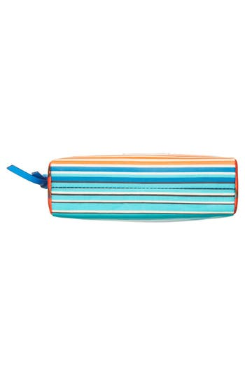Alternate Image 6  - MARC BY MARC JACOBS 'Large' Stripe Coated Cotton Cosmetics Case