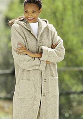 Alternate Image 3  - Hooded Berber Fleece Coat