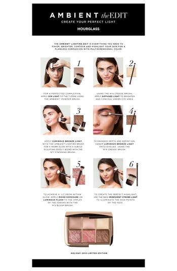 Alternate Image 2  - HOURGLASS Ambient® Lighting Edit (Limited Edition) ($132 Value)