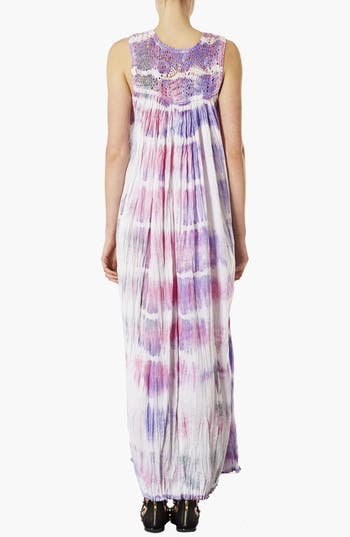 Alternate Image 2  - Topshop Tie Dye Maxi Dress