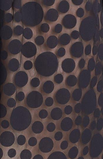 Alternate Image 3  - Eliza J Mixed Media Fit & Flare Dress (Petite)