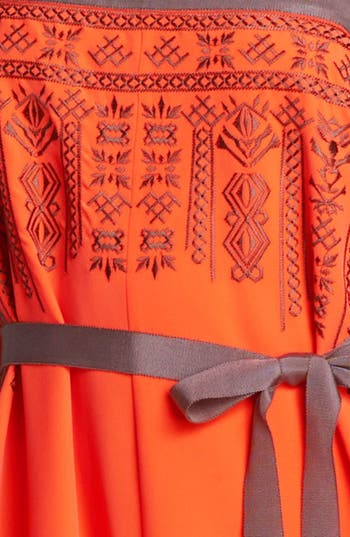 Alternate Image 3  - Jessica Simpson Embroidered Maxi Dress