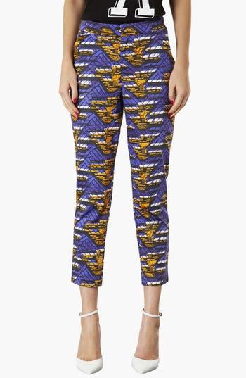 Alternate Image 1 Selected - Topshop African Print Cigarette Pants