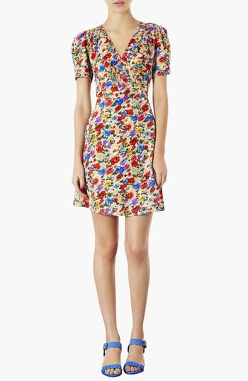 Alternate Image 1 Selected - Topshop Poppy Print Day Dress