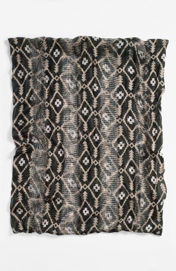 Alternate Image 2  - BP. Print Woven Infinity Scarf (Juniors)