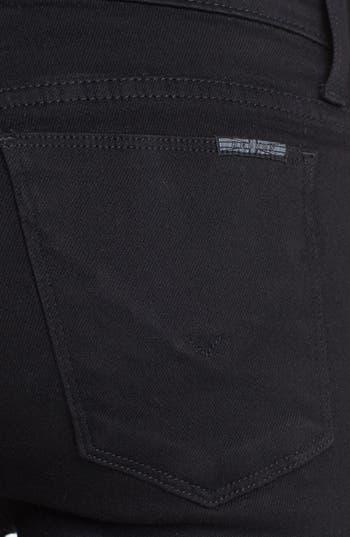 Alternate Image 3  - Hudson Jeans 'Biker' Skinny Jeans (Black)