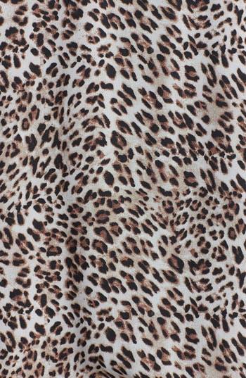 Alternate Image 3  - Starling Cheetah Print Bomber Jacket (Juniors)