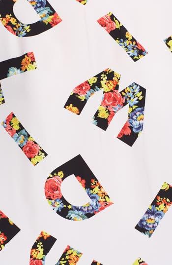 Alternate Image 3  - Lush Print Woven Top (Juniors)