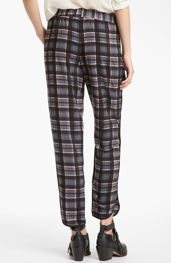 Alternate Image 2  - WAYF Piped Plaid Pants