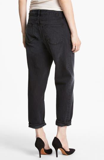Alternate Image 2  - J Brand '1265 Ace' Crop Boyfriend Jeans (Arcadian Black)