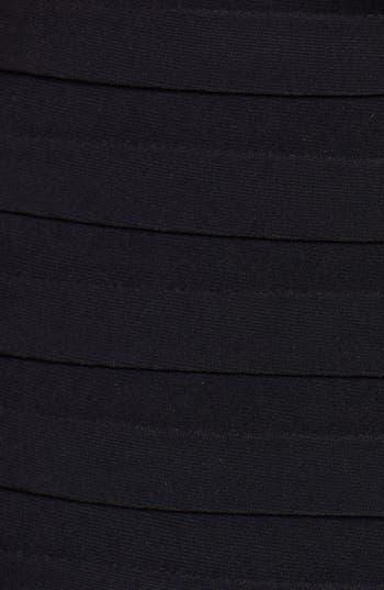 Alternate Image 3  - Betsy & Adam Embellished Shutter Pleat Mermaid Gown (Plus Size)