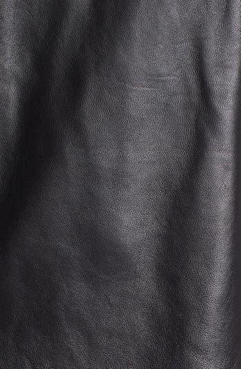 Alternate Image 3  - ALICE & TRIXIE 'Lourdes' Leather & Ponte Knit Dress