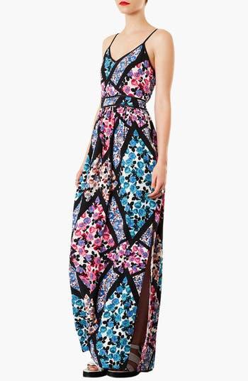 Main Image - Topshop 'Cutabout' Floral Maxi Dress
