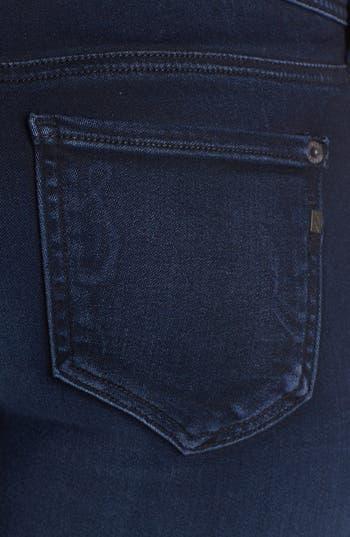 Alternate Image 3  - Genetic 'The Stem' Mid Rise Skinny Jeans (Pop Blue)