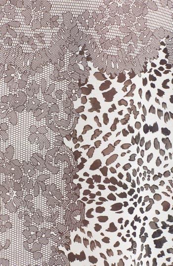 Alternate Image 3  - Chloe K Print Dolman Sleeve Tee (Juniors)