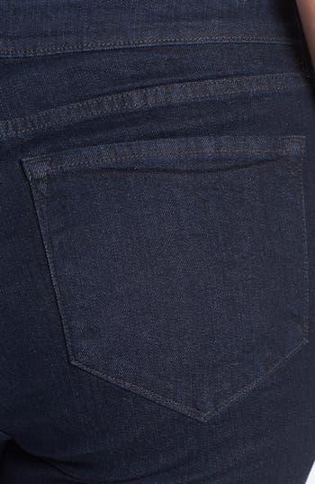 Alternate Image 3  - NYDJ 'Sarah' Stretch Bootcut Jeans (Dark Enzyme) (Plus Size)