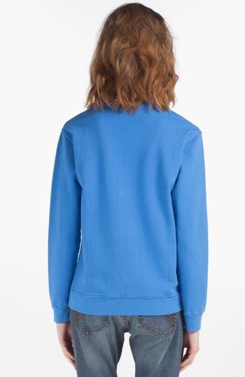 Alternate Image 2  - maje 'Deguiser' Graphic Cotton Sweatshirt