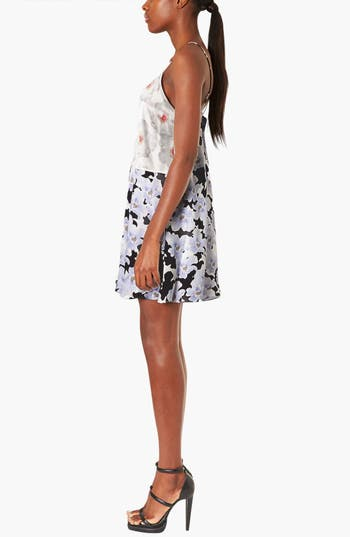 Alternate Image 3  - Topshop Boutique Floral Satin Slipdress