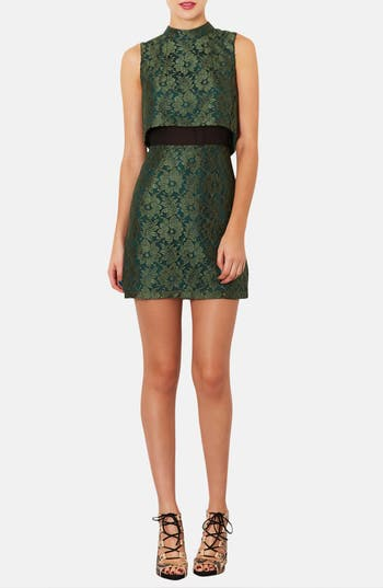 Alternate Image 1 Selected - Topshop Retro Lace Dress
